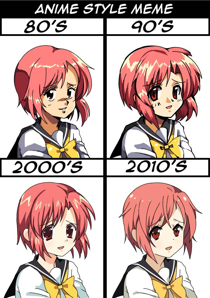 Anime Style Meme By Boarsboarsboars On Deviantart
