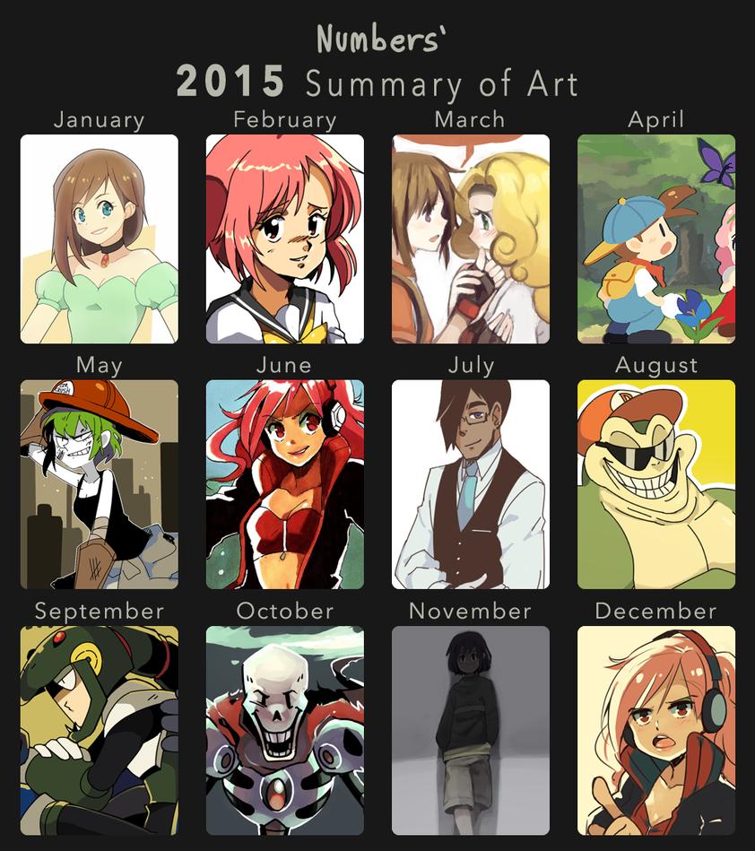 2015 Summary of Art by BoarsBoarsBoars