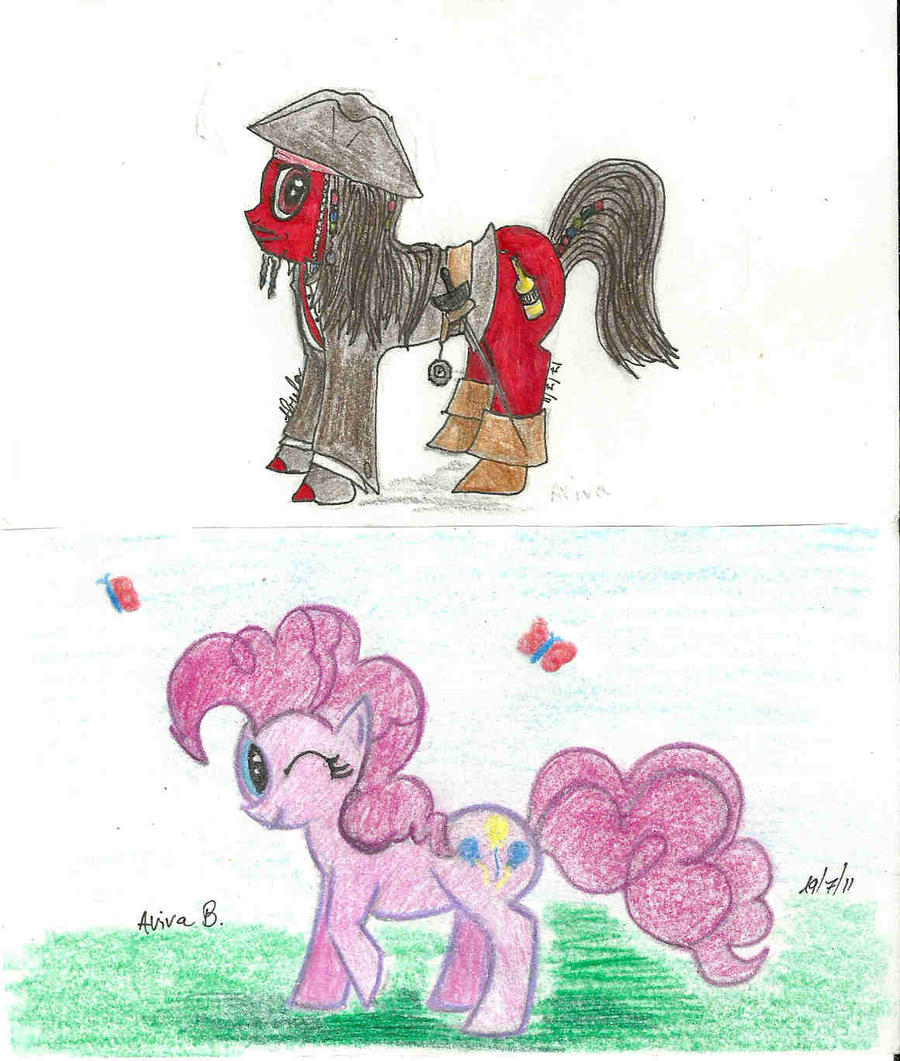 Jack and Pinkie Pie by hatoola13
