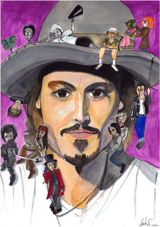 Johnny Depp by hatoola13