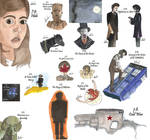 drawing per episode-Doctor Who Season 7 by hatoola13