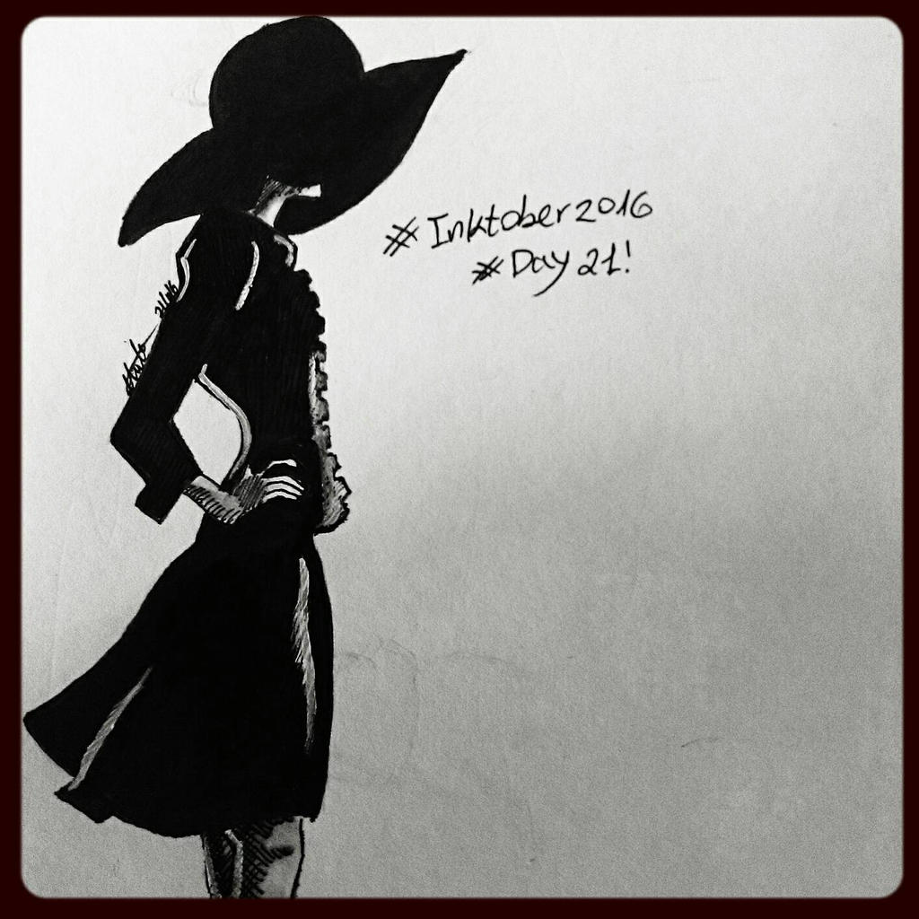 inktober #21 - simple  by hatoola13
