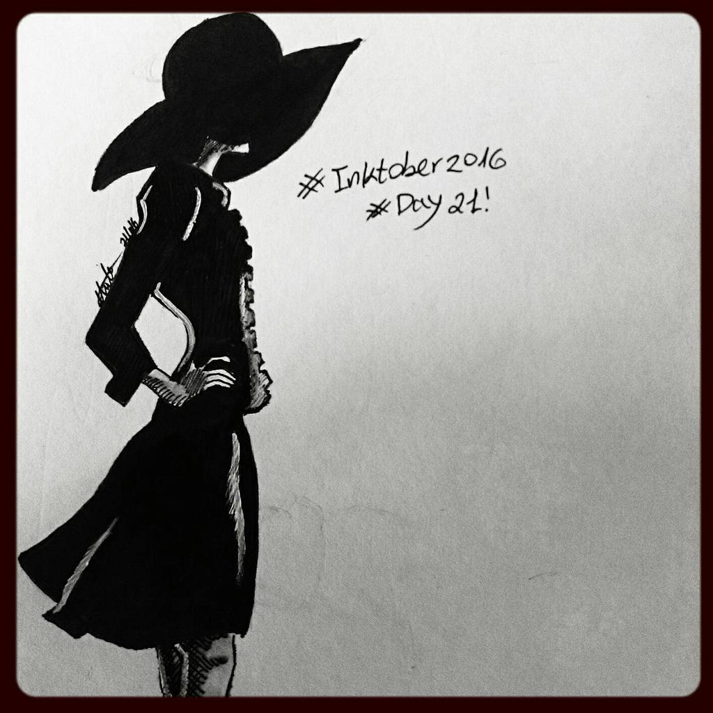 inktober #21 - simple  by hatoola13