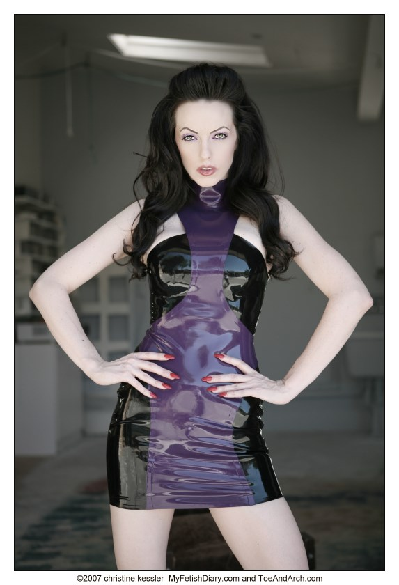 Emily Marilyn in Apnea Dress by fiercecouture