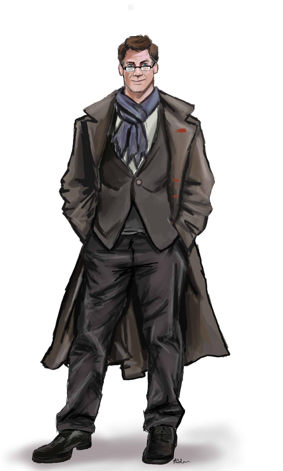 Sherlock Alfons by Rinkuchan27