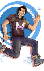 Hello everybody, my name is Markiplier! by Rinkuchan27