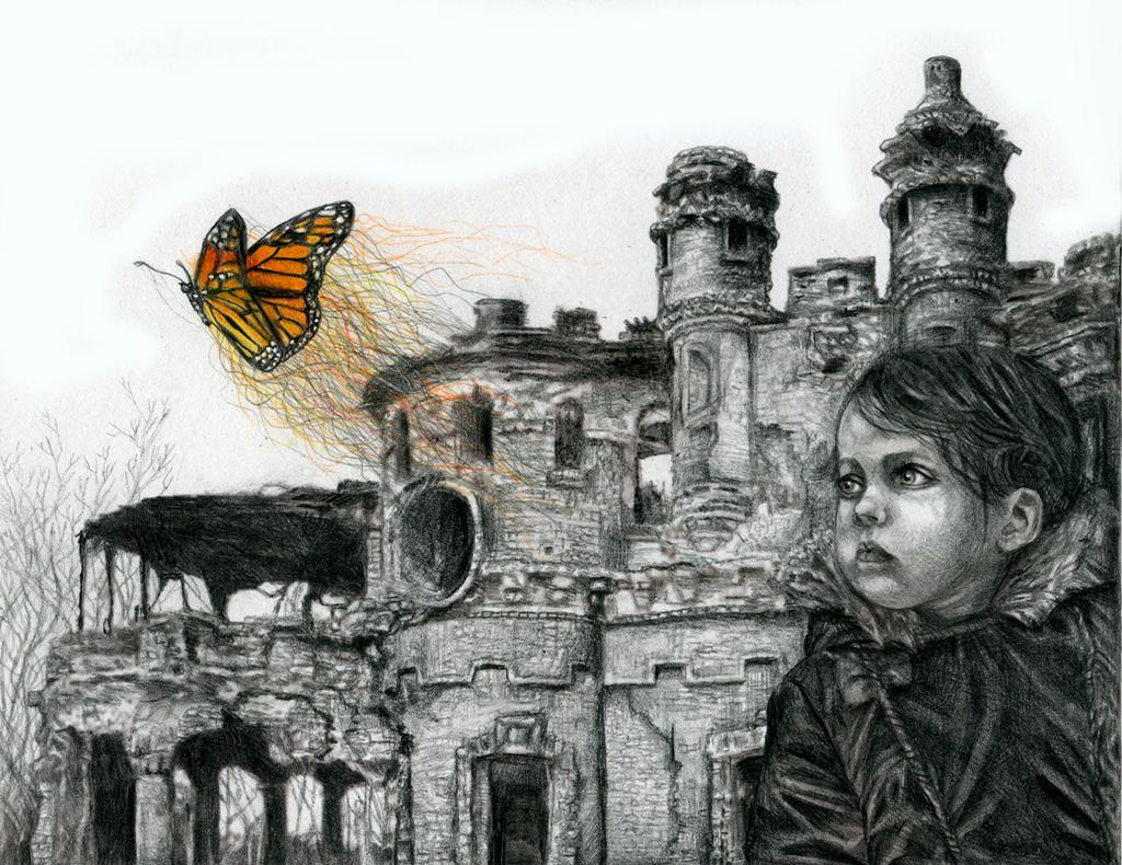 Wanderer Amidst Ruins by MGancarz