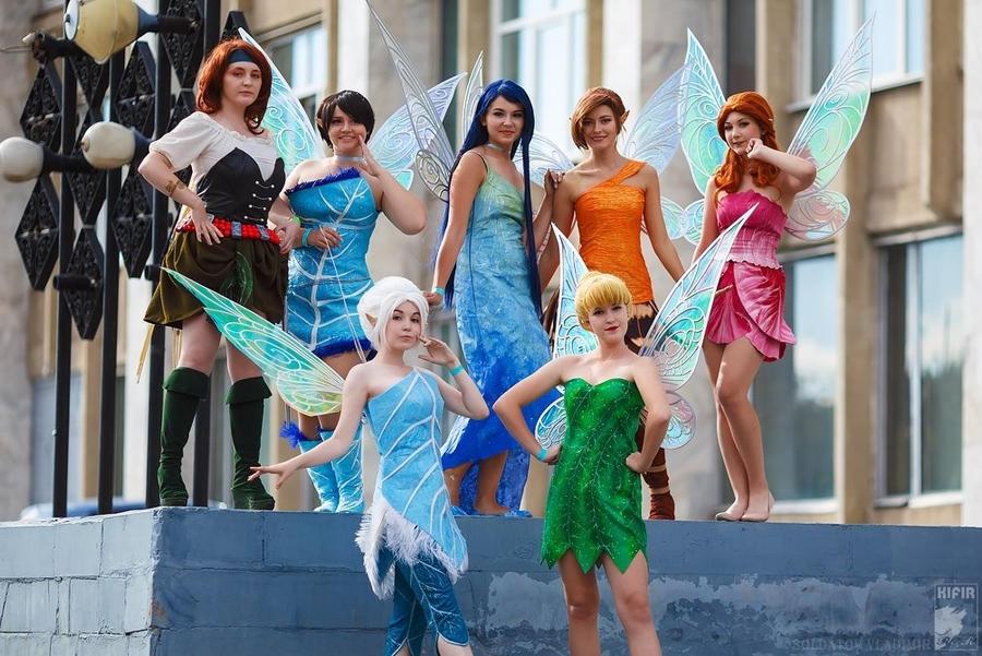 Disney Fairies by Animagfia
