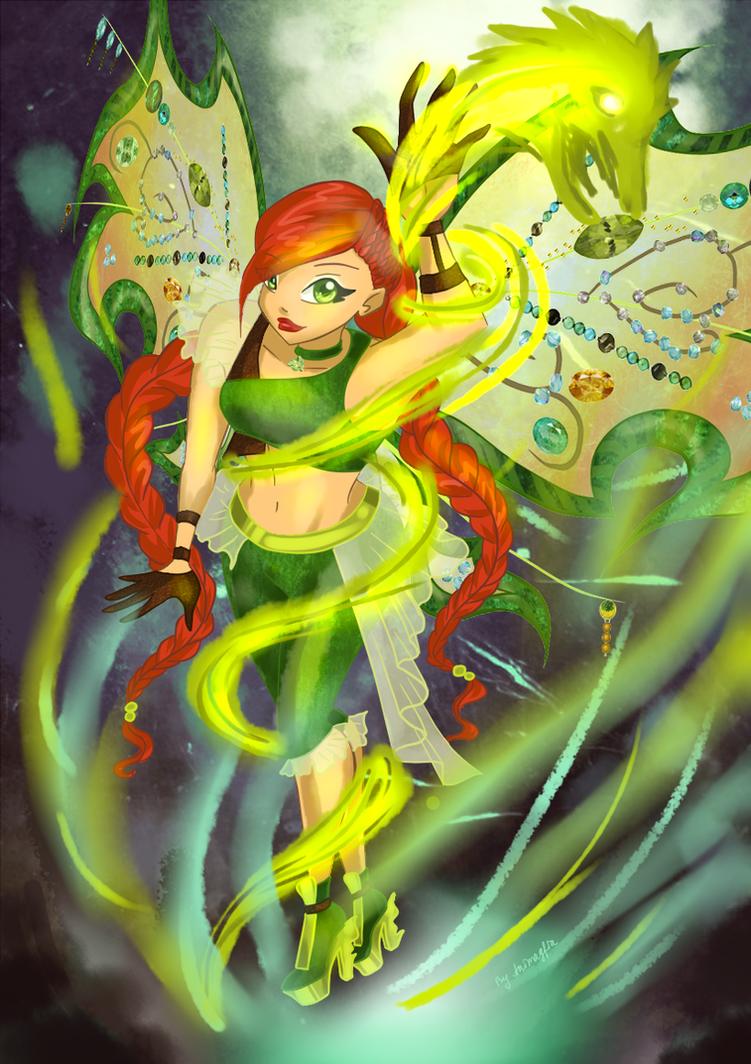 Com: Zoe - the power of believix by Animagfia