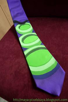 Purple Tentacle Tie