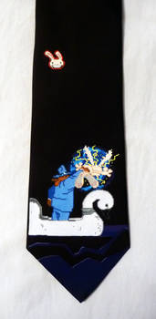 Sam and Max Tunnel of Love tie
