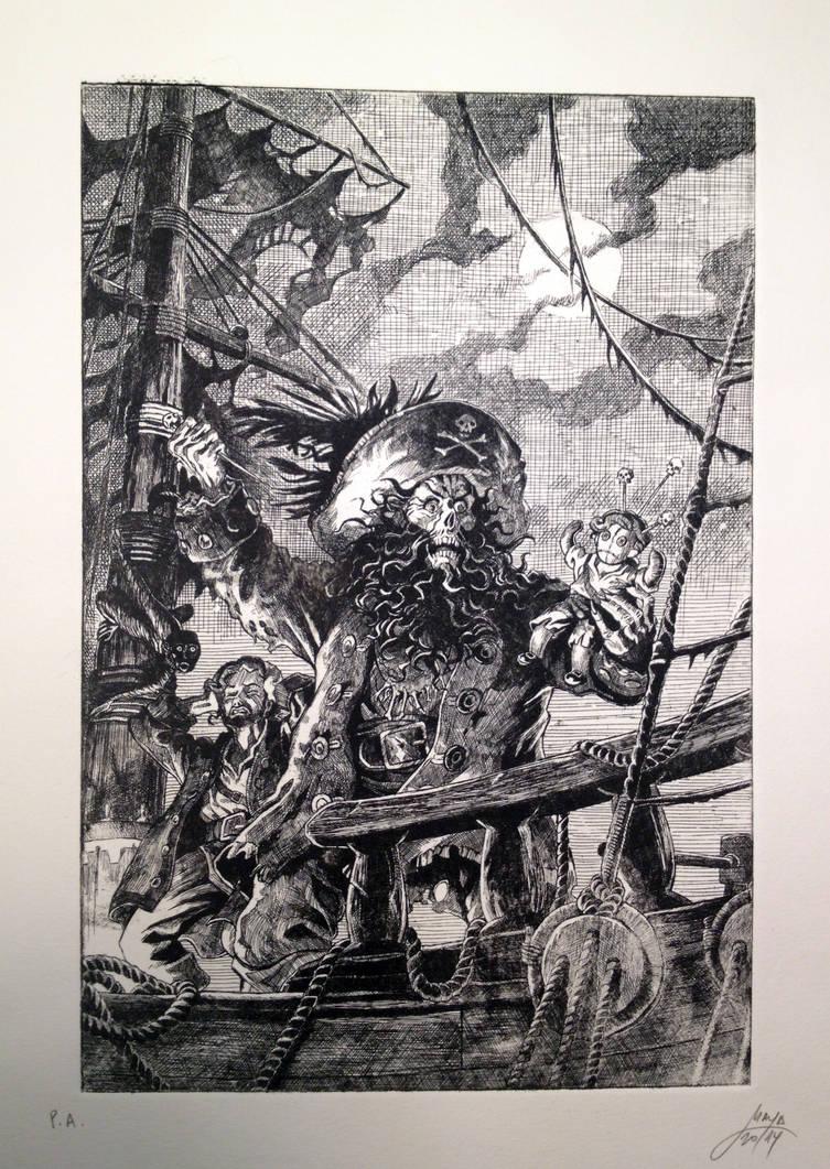 Monkey Island 2 engraving