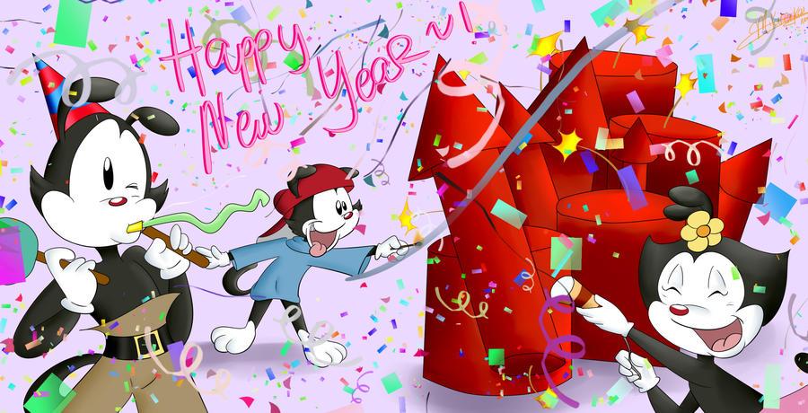 Happy New Year by Mikireikai
