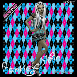 Frankie-Stein Monster High full outfit by TikxTok