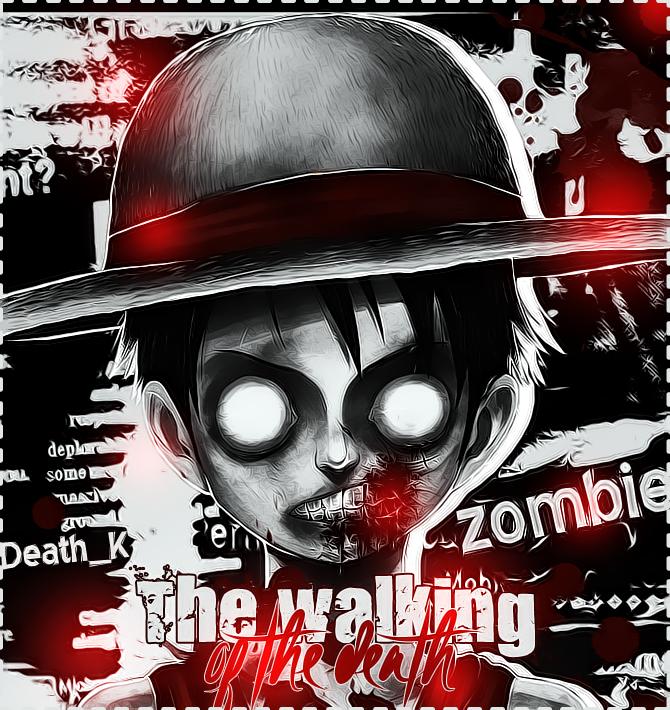 Hitsu Graph ! Ou l'art coloré :)  The_walking_oh_the_death_by_hitsu26-d5fjgne