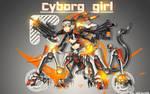 Wallpaper Cyborg Girl
