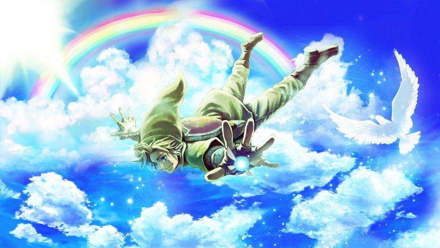 Wallpaper Legend Of Zelda Link By Hitsu26 On Deviantart