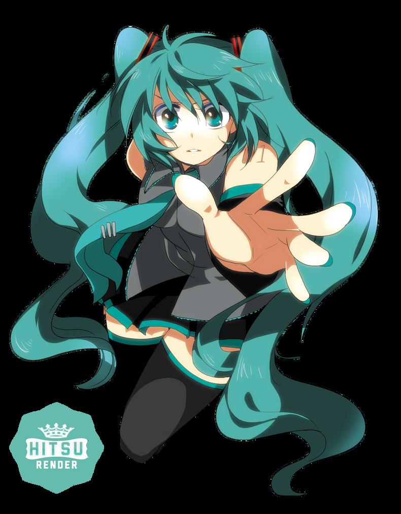 Render Miku Hatsune by Hitsu26