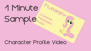 Fluttershy - 1 Minute Thumb by characterconsultancy