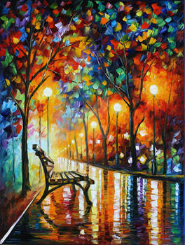 Loneliness of Autumn by Leonid Afremov
