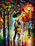 Dance Under The Rain by Leonid Afremov