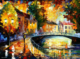 OLD BRIDGE by Leonidafremov