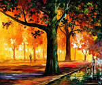 THE LIGHT OF THE NIGHT by Leonid Afremov