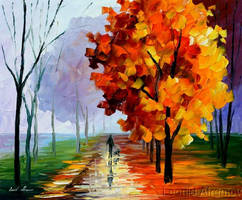 AUTUMN FOG by Leonidafremov