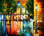 CITY MAGIC by Leonid Afremov
