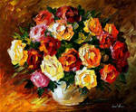 Scent Of Love by Leonid Afremov