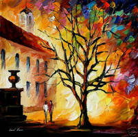 Afremov MOON LGHT Original Art by Leonidafremov