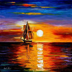 IN EXPECTATION by Leonid Afremov