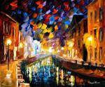 Night City by Leonid Afremov