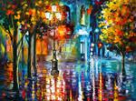 Old Streets by Leonid Afremov