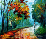 EVENING STROLL by Leonid Afremov