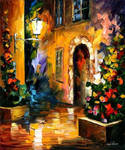 NIGHT TOWN by Leonid Afremov