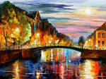 St. Petersburg by Leonid Afremov