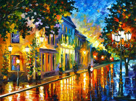 On the Way to Morning by Leonid Afremov