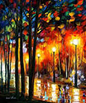 Lonely Park by Leonid Afremov