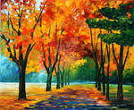 FALL DREAM by Leonid Afremov