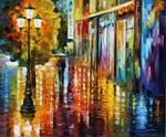 Umbrella by Leonid Afremov