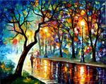 WINDY NIGHT by Leonid Afremov