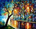 WINDY NIGHT by Leonid Afremov