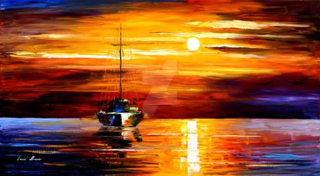 Sea Shadows by Leonid Afremov