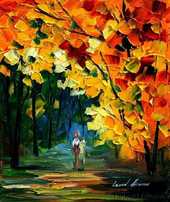 Nature Noir Oil Painting