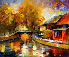 Beauty Of Fall by Leonid Afremov by Leonidafremov