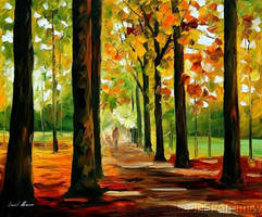 Autumn by Leonid Afremov by Leonidafremov