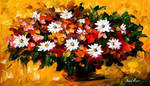 Flowers by Leonid Afremov