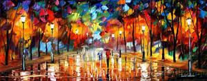 Rain by Leonid Afremov