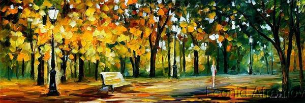 Afremov PARK Original Art